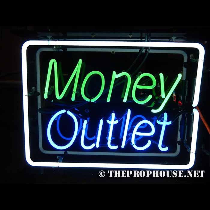 Neon-Rental-Money-Outlet-Framed