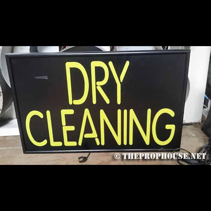 neon-rental-yellow-dry-cleaning